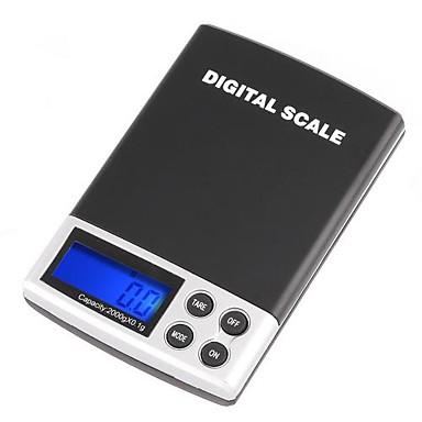 2000g/0.1g LCD Ekran Digtal Pocket Elektronik Ölçeği