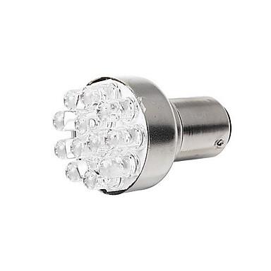 Merdia 1157 1W 80lm 12 SMD LED Beyaz Işık Oto Fren Işık / Yedekleme Işık (çift / 12V)