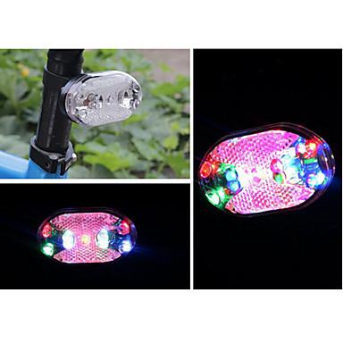 Bisiklet Arka Işığı / emniyet ışıkları / Tail Lights LED Bisiklet Işıkları Bisiklet LED Işık hücreli piller Batarya Bisiklete biniciliği - FJQXZ / IPX-4