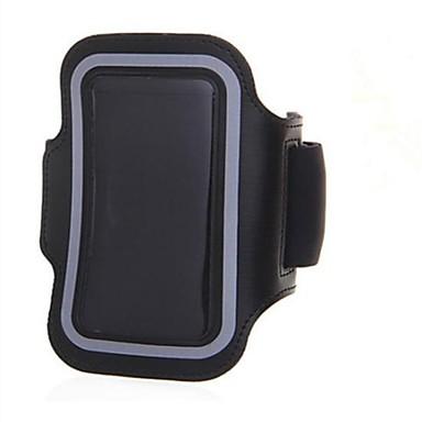Pouzdro Uyumluluk iPhone 7 / iPhone 7 Plus / iPhone 5 Pencereli / Omuzbandı Kol Bandı Solid Yumuşak Tekstil için iPhone SE / 5s
