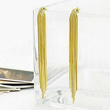 Damla Küpeler alaşım Altın Gümüş Mücevher Için Parti Günlük