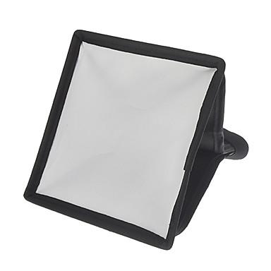 Mini 15mm x 17mm Kamera Yumuşak Işık Kapak (Beyaz + Siyah)