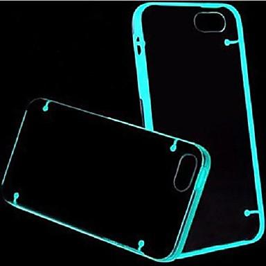 MAYLILANDTM Fluorescent Effect After Lighting Transparent Back Case for iPhone 5/5S(Assorted Color)
