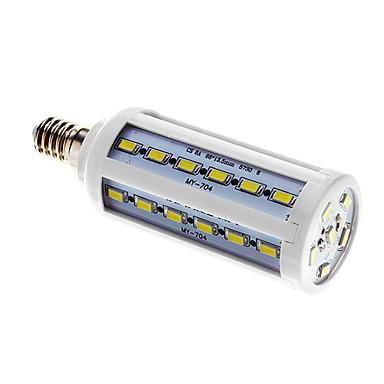 800 lm E14 LED Mısır Işıklar T 42 led SMD 5730 Serin Beyaz AC 220-240V