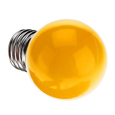0.5W 50 lm E26/E27 LED Küre Ampuller G45 7 led Dip LED Dekorotif Sarı AC 220-240V