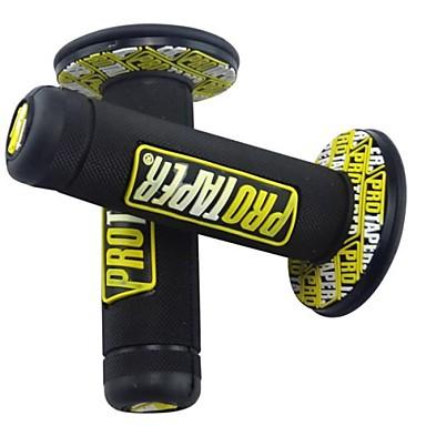 זול אופנועים וטרקטרונים-22mm אוניברסלי ידית אחיזה בר אחיזה עבור הונדה ימאהה לכלוך בכיס האופניים מוטוקרוס