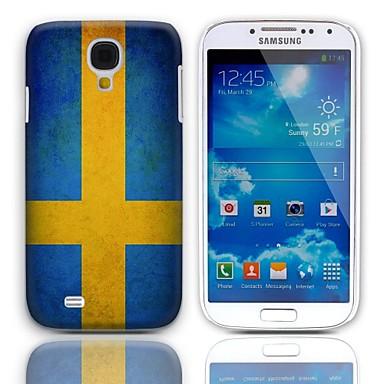 Vintage pavilionul Suediei design greu de caz cu 3-Pack ecran de protecție pentru Samsung Galaxy S4 mini-I9190