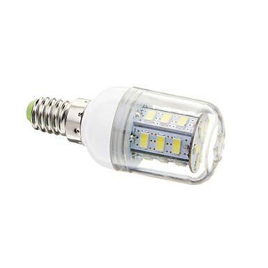 2W E14 LED Mısır Işıklar T 24 led SMD 5730 Serin Beyaz 180-250lm 6000-6501K AC 220-240V