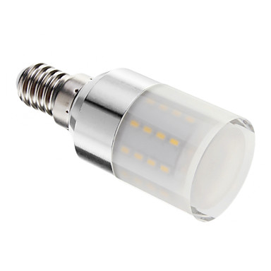 E14 5 W 50 SMD 3014 80-350 LM Warm White T Dimmable Corn Bulbs AC 220-240 V