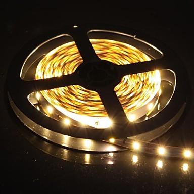 300x5630 SMD 60W 1300LM lumină albă caldă LED-uri de lumină Strip (5-Meter/DC 12V)