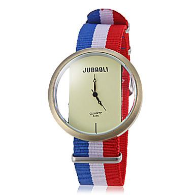 Unisex Casual Style National Flag Fabric trupa cuarț încheietura ceas (culori asortate)