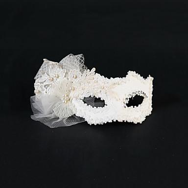 Kadın İnci Tül Başlık-Düğün Özel Anlar Maskeler