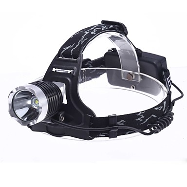 Headlamps Headlight LED 1800 lm 3 Mode - Camping/Hiking/Caving