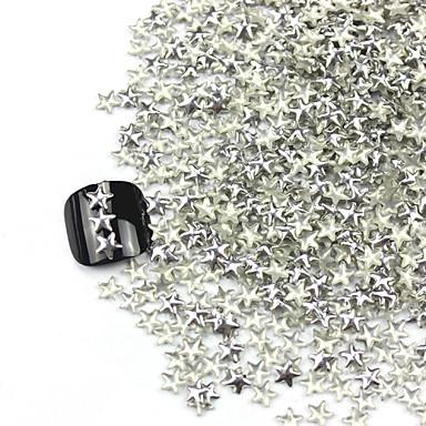 300 pcs Unghiul de bijuterii / Seturi de decorare Abstract / Modă Zilnic Nail Art Design / MetalPistol