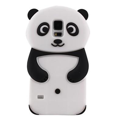 Capinha Macia Panda Silicone para Samsung i9600 S5