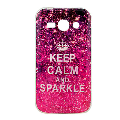 Keep Calm and Sparkle Glossy TPU Soft Back Cover Case for ...