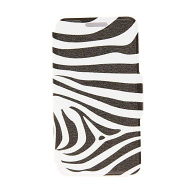 Pouzdro Uyumluluk Nokia Lumia 625 / Nokia Lumia 630 / Nokia Nokia Kılıf Kart Tutucu / Flip Tam Kaplama Kılıf Siyah & Beyaz Sert PU Deri için