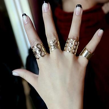Yüzükler Düğün / Parti / Günlük Mücevher alaşım Kadın Evlilik YüzükleriAyarlanabilir