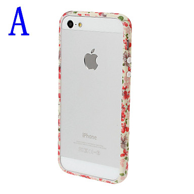 Small Fresh Florals Series Bumper Frame for iPhone 5/5S  iPhone Cases