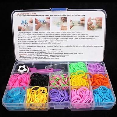 Curea din Cauciuc Cutii de Bijuterii loom brățară Bijuterii Instrumente și echipamente Pandative Cravată Clipuri Închizătoare & Cârlige