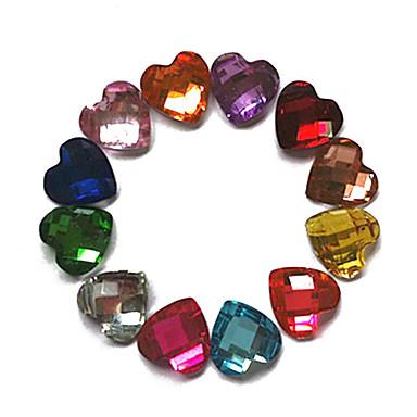 24 pcs Nail Jewelry Tırnak Tasarımı Tasarımı Soyut / Düğün / Moda Günlük