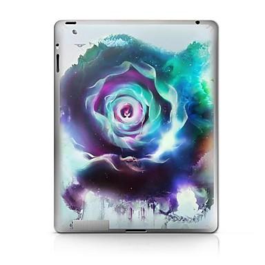 1 parça Arka Koruyucu için Çiçek iPad 2 iPad 3 iPad 4