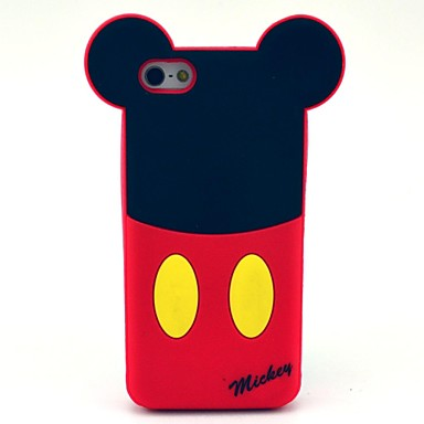 Special Cartoon Pattern Silicone Soft Case for iPhone 5/ 5S