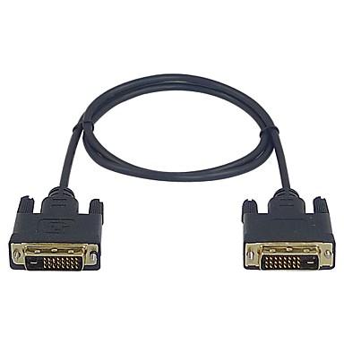 prémio lwm ™ de alta velocidade dvi d macho para macho cabo 1m 3 pés para monitor de pc vídeo HDTV 1080p