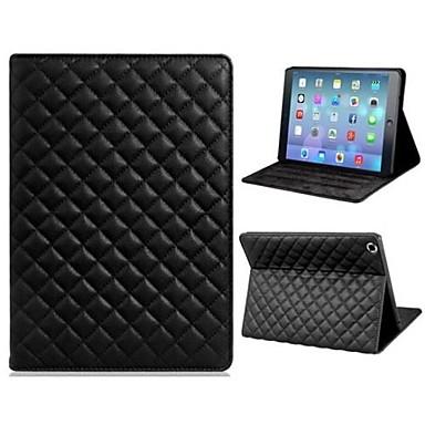 Maska Pentru iPad Air Cu Stand Auto Sleep / Wake Carcasă Telefon Model Geometric PU piele pentru iPad Air