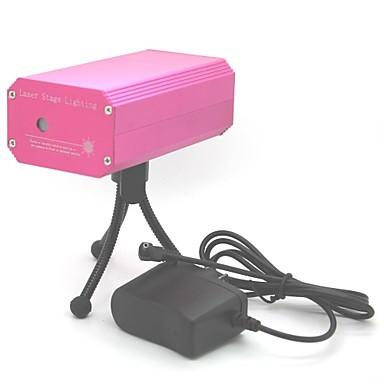 6 1 Mini lazer projektör ses kontrolü de