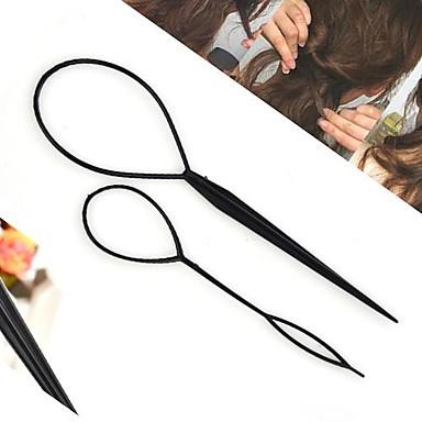 Per donna / Da ragazza Floreale, Stile orientale / Coreano / Elegante Elastico decorato / Molletta / Fermacapelli - Acrilico / Bastoncini per capelli / Bastoncini per capelli
