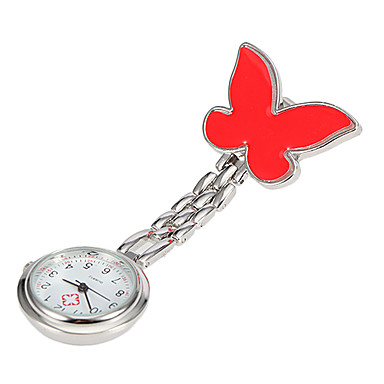Children's Butterfly Style Quartz Pocket Watch (Assorted Colors)