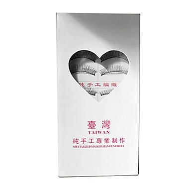 Kirpik 10 pcs Hacimlendirilmiş Kirpik Klasik Günlük Makyaj Kozmetik
