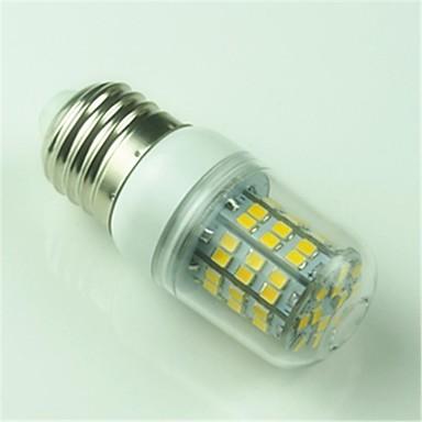 400 lm E26/E27 Becuri LED Corn T 60 led-uri SMD 2835 Decorativ Alb Cald AC 220-240V AC 85-265V