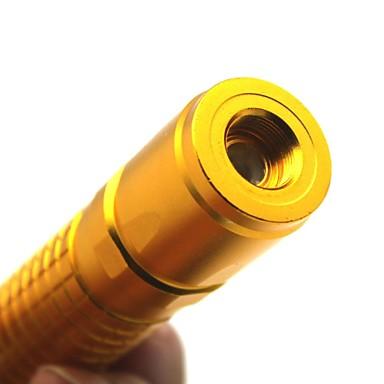 El feneri şekli Lazer işaretleyici 532nm Aluminum Alloy