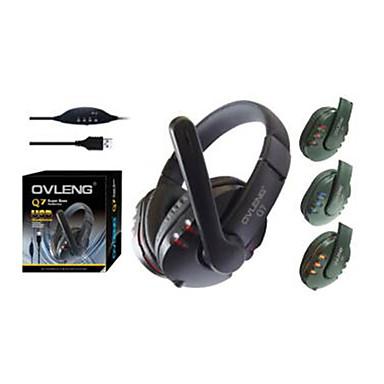 OVLENG Q7 Super Bass casque USB