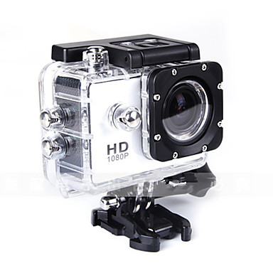 SJ4000 מצלמה בסגנון / מצלמת פעולה 12MP 4000 x 3000 נגד זעזועים עמיד במים הכל באחד 1.5 CMOS 32 GB אנגלית צרפתית גרמנית ספרדית רוסית יפנית