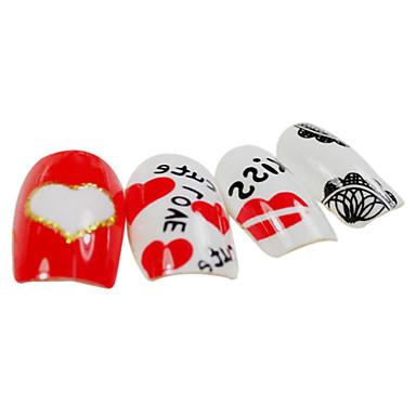24 Nail Art decorare stras Perle machiaj cosmetice Nail Art Design