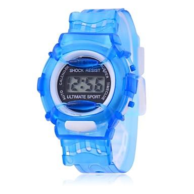 זול שעוני גברים-שעוני ספורט קווארץ כחול / ירוק / אפור ממתק - ירוק כחול ורוד