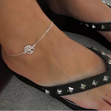 Diğerleri Ayak bileziği - Gümüş Eşsiz Tasarım / Moda / minimalist tarzı Ayak bileziği Uyumluluk Yılbaşı Hediyeleri / Parti / Günlük