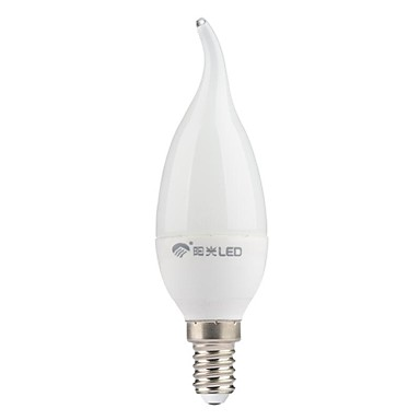 200lm E14 LED Mum Işıklar CA35 7 LED Boncuklar SMD 3528 Serin Beyaz 220-240V