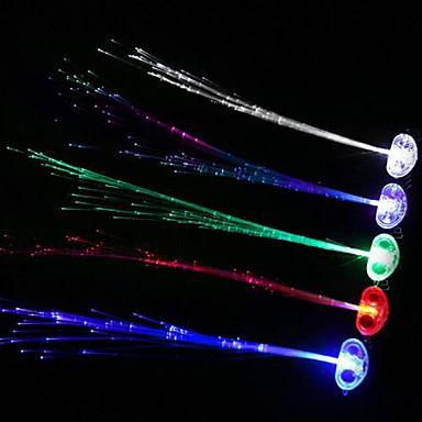 Coway led gece ışığı yayan flaş örgü (rastgele renk)