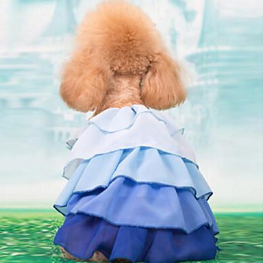 Câine Rochii Îmbrăcăminte Câini Galben Albastru