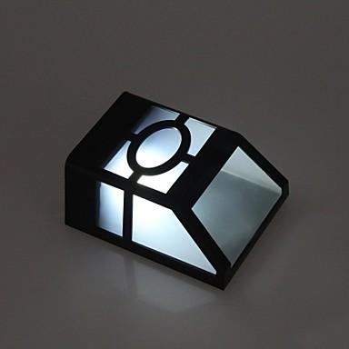 2-LED Beyaz LED Açık Güneş Işık Duvar Işık Peyzaj Pinup Yolu Bahçe