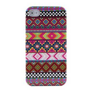 Purple Stripe Pattern Protective Hard Case for iPhone 4/4S iPhone Cases