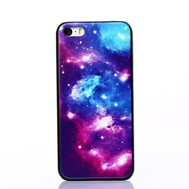 iphone 5c için cazip yıldız ışığı desen plastik zor durumda