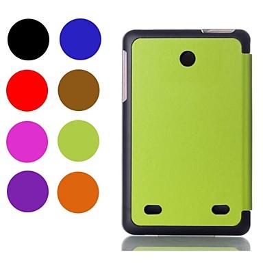 Pouzdro Uyumluluk LG Tüm Gövdeyi Kapsayan Kılıf Tam Kaplama Kılıf Tek Renk Sert PU Deri için
