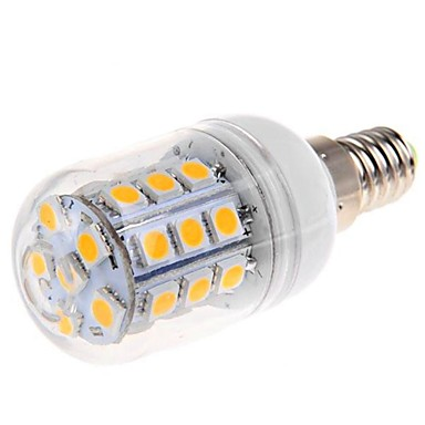 1 szt. 4 W Żarówki LED kukurydza 200LM E14 G9 E26 / E27 27 Koraliki LED SMD 5050 Dekoracyjna Ciepła biel Zimna biel Naturalna biel 220-240 V