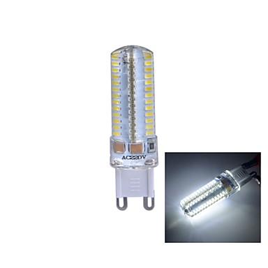 330 lm G9 LED Mısır Işıklar T 104 led SMD 3014 Doğal Beyaz AC 220-240V