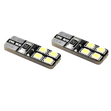 T10 Araba Motorsiklet Beyaz 1W 5800-6300Gösterge Işıkları Okuma Işığı Plaka Aydınlatma Lambası Yan Lambalar Sinyal Lambası Denetleme